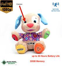1080P Full HD Hidden Nanny Nurse Spy Camera DVR Dog Toy Baby DV with Audio