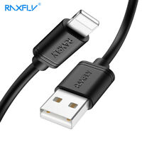 RAXFLY Charger Lightning USB Data Charging Cable For iPhone X Xs Max 8 7 6 Plus
