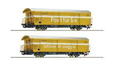 Roco 76201, Set 2tlg. Postgüterwagen Z2, SBB, Neu und OVP, H0