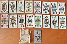 Original 1925 GERMAN MINING PLAYING CARDS - BERGBAUKARTE SPIELKARTEN - 36 CARDS!
