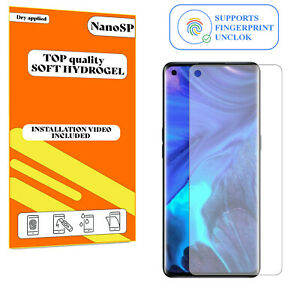 Screen Protector For Oppo Reno4 Pro 5G Hydrogel Cover - Clear TPU FILM
