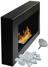 Bio Ethanol Fireplace Biofire Fire B2C Professional 650 x 400 FLAT BACK ANY WALL