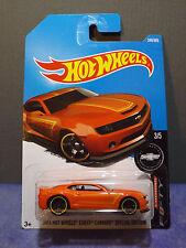 Hot Wheels 2013 HOT WHEELS CHEVY CAMARO SPECIAL EDITION New ORANGE CAMARO 50 Car