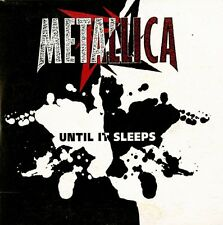 METALLICA - UNTIL IT SLEEPS - VERY RARE 3 TRACK CD SINGLE CARD SLEEVE AUS 1996
