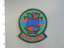 USAF issue 112thTactical Control Flight woodland subdued patch by Ira Green, new