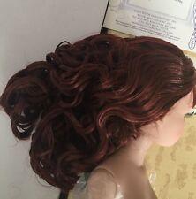 Doll WIG ~ Brrooties ~ long chestnut hair - Tonner Ellowyne Wilde - beautiful