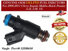 1 Fuel Injector OEM Delphi for 2006-2011 Chevrolet Impala 3.5L V6 *12588610
