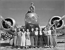 Photo: Amelia Earhart Atop Her Lockheed Electra With Purdue University Coeds