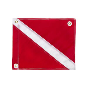 """IST 20"""" x 24"""" Traditional Diver Down Flag, USCG Regulation Size"""