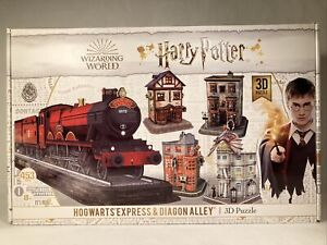 Harry Potter Hogwarts Express Diagon Alley 3D Puzzle 453 Pieces