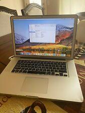 "MacBook Pro 15.4"" 2.5GHz Intel Core i7 8GB RAM 750GB HDD 1GB AMD Radeon HD 6770M"