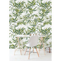 Exotic Leaves wall mural Floral Home  Flowers Non-Woven wallpaper traditional