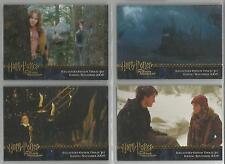 Harry Potter POAU- Gold Foil 4 Card Promo Set #Promo1-4