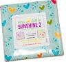 "My Little Sunshine 2 charm pack 5"" Benartex Quilting Precut Fabric 100% Cotton"