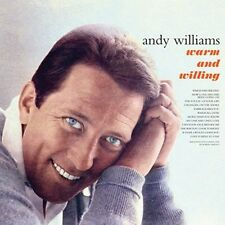 CD ANDY WILLIAMS WARM AND WILLING STRANGER ON THE SHORE EMBRACEABLE YOU LOVE IS