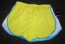 NEW Ladies REFLEX Yellow RUNNING SHORTS Sz XL Dri Fast Built In Brief NWT Bright