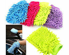 Both Side Microfiber Hand Glove for Cleaning of Car,Home,Office- Set of 5 Pcs
