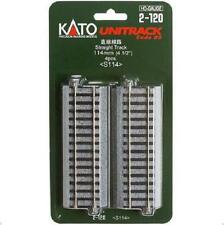 Kato 2-120 Rail Droit / Straight Track 114mm 4pcs - HO