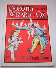 Vintage Dorothy and the Wizard of Oz L. Frank Baum Rand McNally Paperback Book