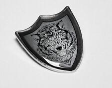 Game of Thrones Stark Direwolf Shield Pin Badge