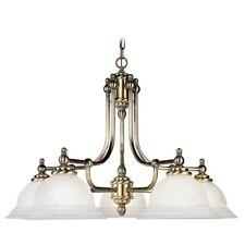 Livex Lighting North Port Chandelier in Antique Brass - 4255-01