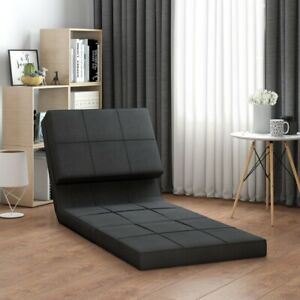 Futon Z Bed Chair Folding Mattress Guest Bed Floor Chair 4 Colour