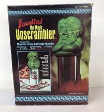 1977 K&B Foudini The Genie - The Magic Unscrambler Vtg Coloring Book Toy 70's 80