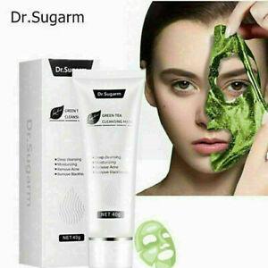 40g Green Tea Blackhead Face Mask Skin Care Remove Acne Nose Deep