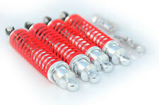 Traxxas Slash 4X4 / 2WD Aluminum Front and Rear Shocks (red)