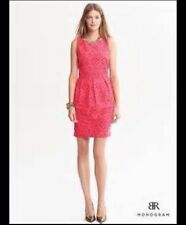 Banana Republic Monogram lace Tulip dress, 6, NWT