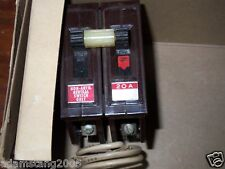 NEW WADSWORTH  1 pole 20 Amp neutral safety switch CIRCUIT BREAKER