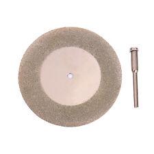 "50mm 2"" Diamond Coated Cutting Cut Off Disc Wheel Rotary Tool fo Grit"