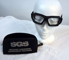 Military style goggles paintball, airsoft high impact corrective lenses (#bte96)