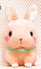 Cute Baby Animals 3'' Pink Bunny Amuse Plush Key Chain NEW
