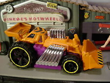 2017 CITY WORKS Design SPEED DOZER☆orange/purple;yellow or6☆LOOSE Hot Wheels