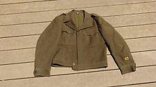 WW2 US Army Military Dress Uniform Top Jacket Blouse Ike Size 40R