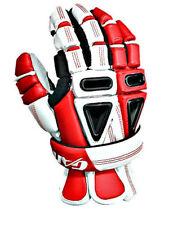 New Gait Lacrosse Mutant X Gloves Red Medium, Muxgl1