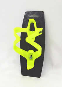 Supacaz Fly Bicycle Water Bottle Cage, Neon Yellow
