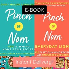 Pinch of Nom 2 Book Set Collection (Pinch of Nom & Everyday Light)