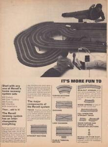 1965 Revell Slot Car Track 2 page Ad