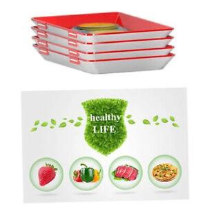 Fresh Food Preservation tray Organizer Pallet Refrigerator Food Kitchen Gad RZH