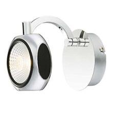 LED Spot Wandstrahler chrom-schwarz Wandspot 1-flammig Wandleuchte Retro Spot