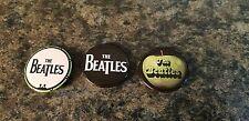 "Lot of 3 The Beatles Pins 1.25"" (Lot B54)"