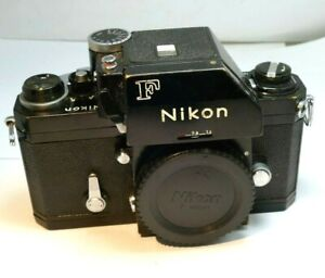 Nikon F Photomic Camera Body with FTn prism finder w/ meter working MOTOR READY