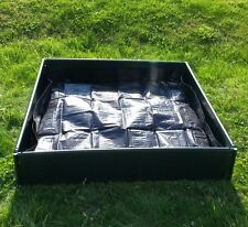 14cm High x .99cm x 97m - Build-a-Bed 2 in 1 Raised Bed Liner & Cover Grow Bed