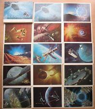 32 Post card Star Way Cosmic Space Satellite Rocket Planet Station Man Cosmos PC