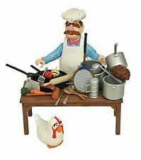 Diamond Select Toys & Disney Muppets Swedish Chef Deluxe Action Figure Set