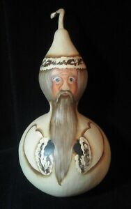 handpainted gourd by YV