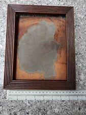 """1850s era TELAIO Tuta dipinto ad olio piccole dimensioni interne 165 x 210 MM di passatura a pettine """"treen"""