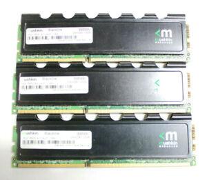 PC Gaming Memory Mushkin 12GB Kit ( 4GB x 3 ) PC3-16000U DDR3-2000 DIMM Shell